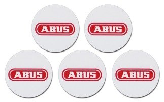 Abus proximity chip stickers 5-stuks
